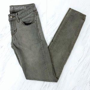 Articles of Society- Mya Army Skinny Jeans Size 25